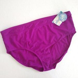 NWT Catalina Purple Swim Bottom 3X